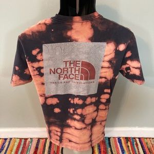 The North Face Tie Dye Shirt Trails Tribulations